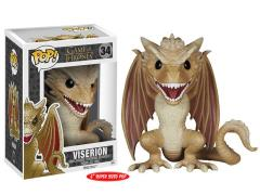 "Pop! TV: Game of Thrones Super-Sized 6"" Viserion"