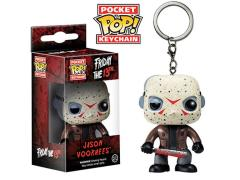 Horror Pocket Pop! Keychain - Jason Voorhees