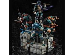 Teenage Mutant Ninja Turtles PVC Statue - Set of 4