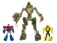 Animated Stealth Lockdown With Legends Optimus Prime & Bumblebee (Target Exclusive)