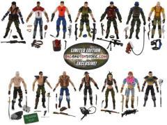 BBTS Exclusive GI Joe 7-Packs - Set of Slaughter's Marauders & Dreadnoks