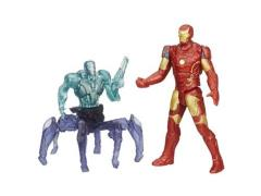 "Avengers: Age of Ultron 2.50"" Two Pack Series 01 Iron Man Mark XXLIII & Sub-Ultron"