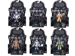 "2015 Star Wars 3.75"" Black Series 01 - Set of 6"