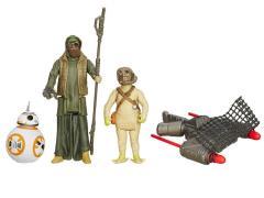 "Star Wars 3.75"" BB-8, Unkars Thug & Jakku Scavenger 2-Pack (The Force Awakens)"