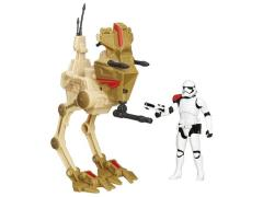 Star Wars Episode VII Desert Assault Walker with First Order Stormtrooper Officer  Exclusive
