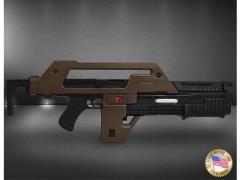Aliens Stunt M41A1 Pulse Rifle Prop Replica Brown Bess