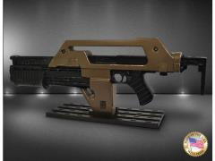 Aliens Stunt M41A1 Pulse Rifle Prop Replica Brown Bess - Weathered