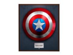 Captain America The Winter Soldier Shield Replica - Classic (Wall Mount)