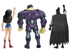 Exclusive JLU Three-Pack - Wonder Woman, Mongul, Batman