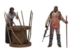 The Walking Dead TV Series Deluxe Box Set - Morgan With Walker & Trap