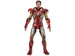Iron Man Mark VII Battle Damage 1/4 Scale Figure (LE 7500)