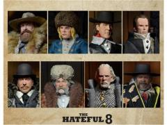 "The Hateful Eight - 8"" Clothed Figures - Case of 8"