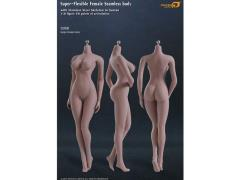 1/6 Scale Super-Flexible Female Seamless Body With Stainless Steel Skeleton - Suntan Large Breast