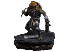 TMNT 2014 Movie Museum Masterline Michelangelo Statue