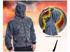 Godzilla Adult Costume Hoodie - Standard