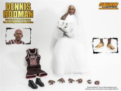 1/6 Scale Dennis Rodman Collectible Figure Wedding Dress Limited Edition