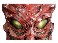 Ceremonial Predator Mask Prop Replica