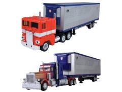 Transformers Chronicle Optimus Prime (G1 & DOTM) Two-Pack