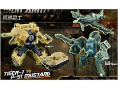 Iron Army Two-Pack A - Tiger-1 Tank & P-51 Mustang