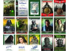 Star Wars 2015 Chrome Perspective Trading Cards - Box of 24 Packs