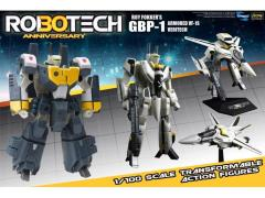 Robotech 30th Anniversary 1/100 Scale Heavy Armor GBP-1 Transformable Figure - VF-1S Roy Fokker