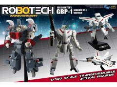 Robotech 30th Anniversary 1/100 Scale Heavy Armor GBP-1 Transformable Figure - VF-1J Rick Hunter