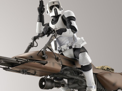 Star Wars Scout Trooper & Speeder Bike (Return of the Jedi) 1/12 Scale Model Kit