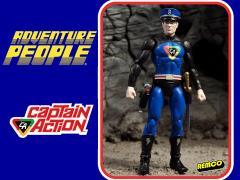 """Adventure People 4"""" Figure Wave 01 - Captain Action"""