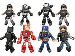 Marvel Minimates Wave 66 Captain America: Civil War Two Pack Set of 4