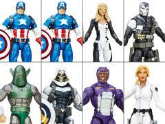 Captain America Marvel Legends Wave 1 Case of 8 (Red Skull BAF)