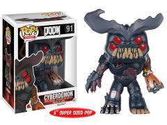 "Pop! Games: Doom - Super-Sized 6"" Cyberdemon"