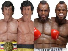 Rocky 40th Anniversary Series 01 Set of 4 Figures