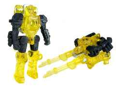 Transformers Prime Arms Micron Autobot Firebolt (Yellow Version) Exclusive