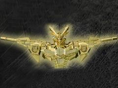 Transformers Go! GoKenzan Combiner Golden Helmet Exclusive
