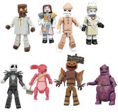 Nightmare Before Christmas Minimates Series 4 Complete Set