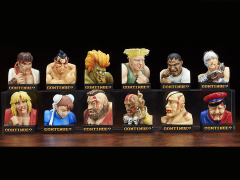 Street Fighter 2 Trading Figure Defeated Face Collection - Box of 12