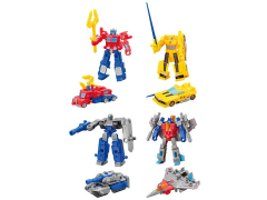 Transformers Kabaya Block Wars Wave 1 Box of 8 Model Kits