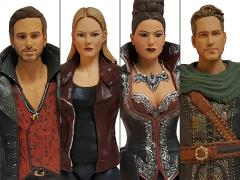 """Once Upon a Time 6"""" PX Previews Exclusive Set of 4 Figures"""