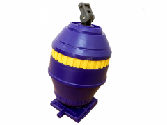 TW-C06 Concrete Purple Mixer Barrel