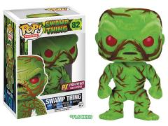 Pop! Heroes Swamp Thing (Flocked & Scented) PX Previews SDCC 2016 Exclusive