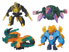 Transformers Robots in Disguise Minicon Wave 3 - Set of 4