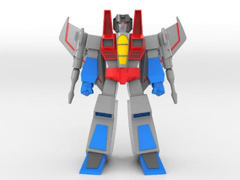 Transformers Vintage Arts Sofubi Starscream (Metallic Special Ver.) Limited Edition