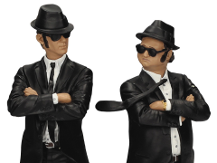 The Blues Brothers Movie Icons Jake & Elwood Blues Figurine Set