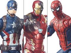 Captain America: Civil War Marvel Legends Battle Damaged Three Pack