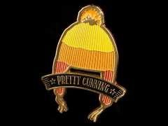 "Firefly ""Pretty Cunning"" Lapel Pin"