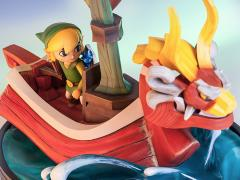 Legend of Zelda: The Wind Waker Link on The King of Red Lions Statue