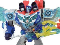 Transformers Adventure TAV-61 God Optimus Prime Micron Set