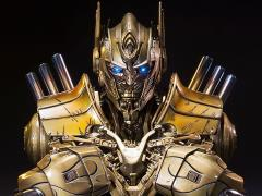 Transformers: Age of Extinction Optimus Prime Bust (Gold Ver.)