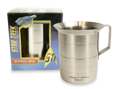 Star Trek 50th Anniversary Metal Klingon Mug