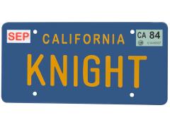 Knight Rider - Knight License Plate Replica